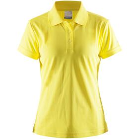 Craft Classic Bluzka z krótkim rękawem Kobiety żółty